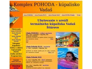 Chata POHODA - kúpalisko Vadaš