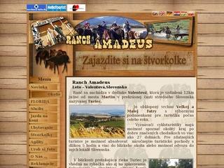 Ranch Amadeus, s.r.o.